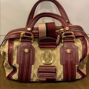 Gucci handbag mini duffle AUTHENTIC